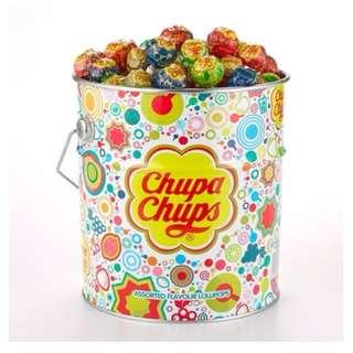 ☆加倍佳棒棒糖綜合口味桶裝 11公克x150支☆