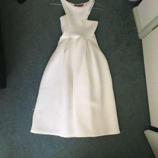Boohoo Pleat Dress