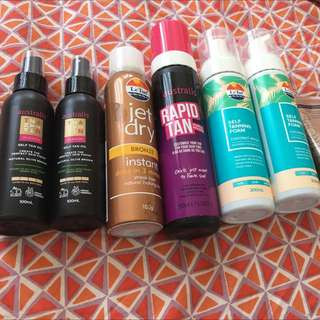 Tanning Products Valued At Over $120
