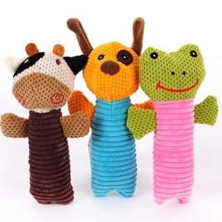 Squeaky Pet Toy Doll / Dog / Cat / Puppy / Kitten