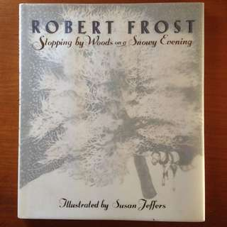 Illustrated Book From Robert Frost Poem