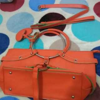 hand bag w/sling