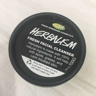Lush Facial Cleanser Herbalism
