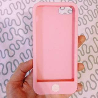 BABY PINK IPHONE 5/5s CASE