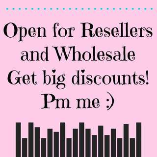 OPEN FOR RESELL AND WHOLESALE