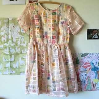 Dotti Floral A Line Dress