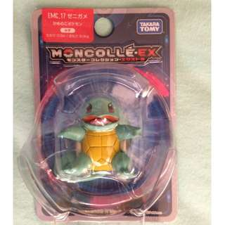 Pokemon Squirtle Moncolle Monster Collection EX EMC-17 Takara Tomy