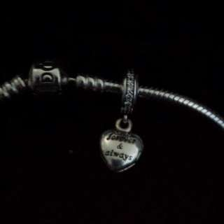 To My Beautiful wife Pandora Charm And Bracelet