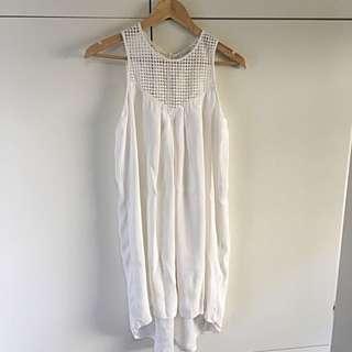 Witchery Size 8 Dress - Ivory