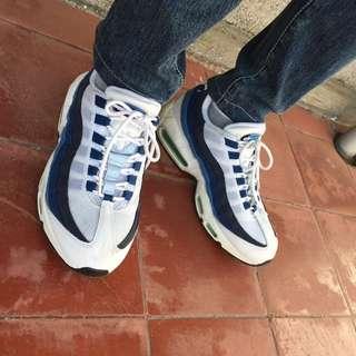 Nike Max 95 白藍 配色