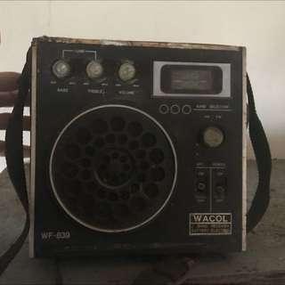 古老的收音機