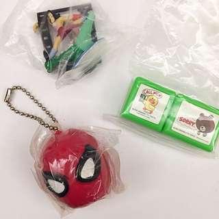 ((特價扭蛋))蜘蛛人/LINE/迪士尼電影碟片