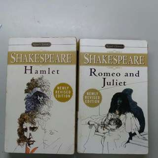 Romeo Juliet And Hamlet