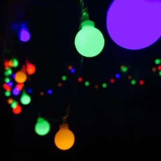 閃亮彩色裝飾led串燈