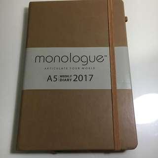 Monologue 2017 Planner