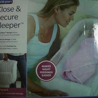 Secure n sleep baby, retail price rm199