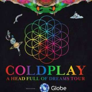 Coldplay Manila tickets (Platinum And Gold)