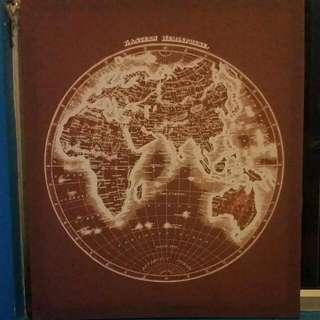 Eastern Hemisphere Canvas Print