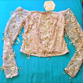 Sparkle Tassel Top | 8