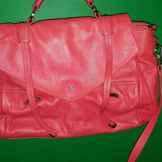 Branded Bag AIGNER ASLI Pink Fuschia