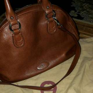 Repriced BRANDED BAG AIGNER CLASSIC EDITION BROWN CHOCO