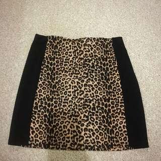 Leopard Print Ally Skirt