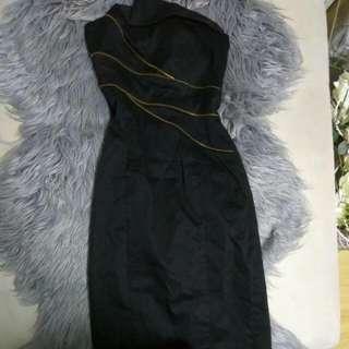 Size 6 XS Women's Portman's Little Black Dress
