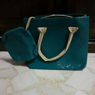BN Ladies Handbag With Pouch