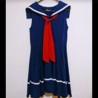 Revival Drunken Sailor Dress - Size 10
