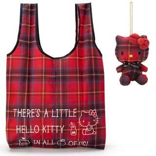 日本帶回 最新三麗鷗購物袋玩偶吊飾/現貨