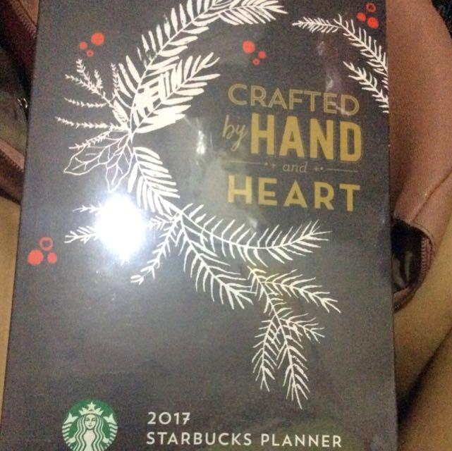 2017 Starbucks Planner