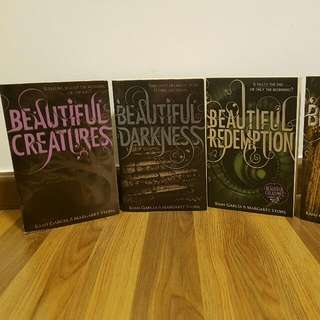Caster Chronicles Complete Novel Series (Complete Set Of 4)