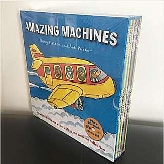 Amazing Machines Collection (10 Books Plus Cd)