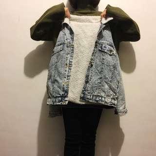 📍新年特價📍新雪花色牛仔外套