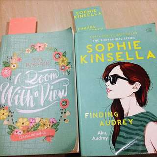 Novel (Finding Audrey & A Room With A View)