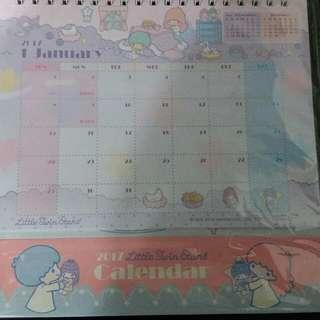 little twin star 月曆
