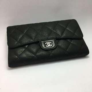 🚚 100%正品 Chanel 香奈兒 皮夾 中夾 長夾