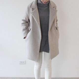 Novii 80%羊毛大衣