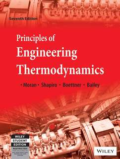 (E-Book) Principles of Engineering Thermodynamics by Moran, Shapiro, Boettner, Bailey
