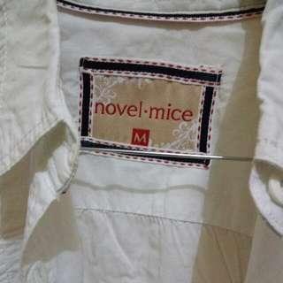Kemeja Putih Lengan Panjang Size M