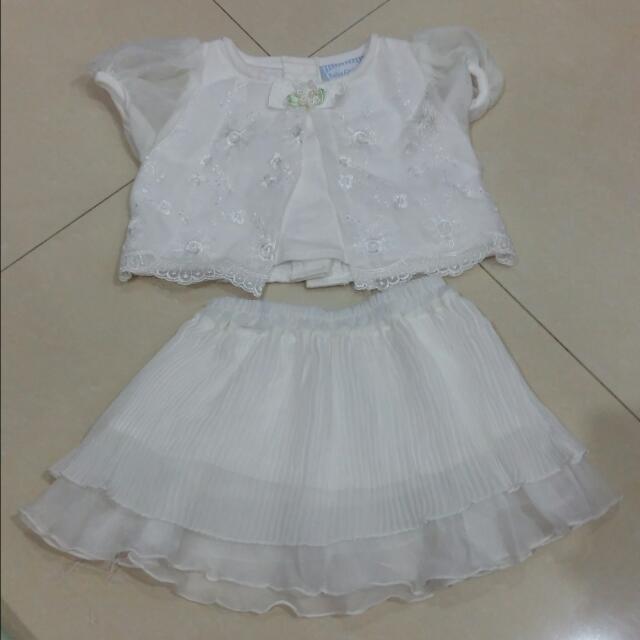2 Pcs Pakaian Baby Girl