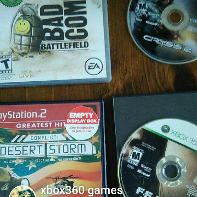 4. Xbox360 games