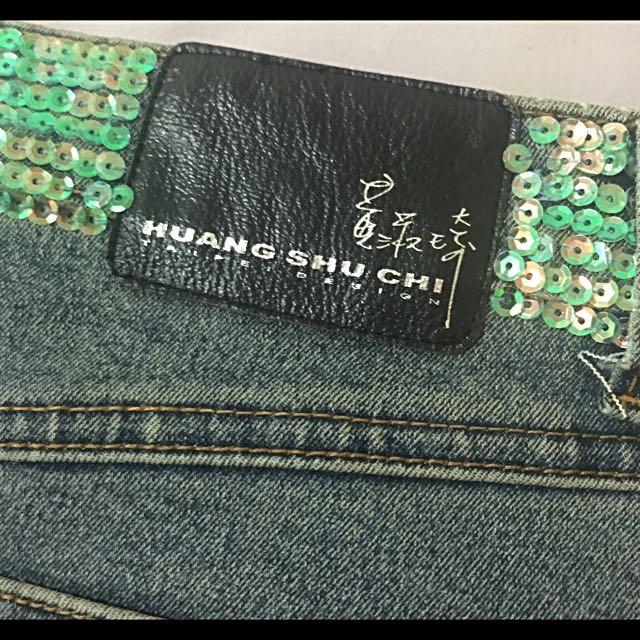 降價$500~黃淑琦設計師 牛仔短裙