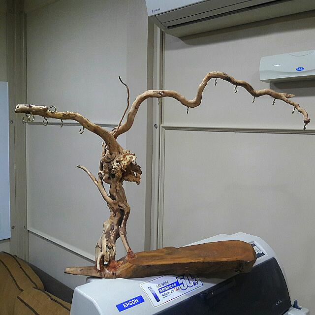 天然奇木吊飾架/ 筆架