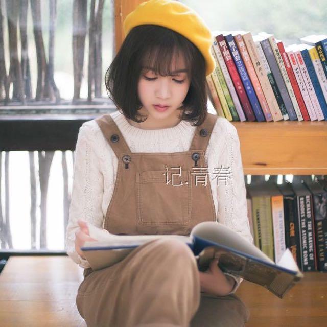 (免運)復古文藝文青 貝蕾帽/貝雷帽/畫家帽 -黃