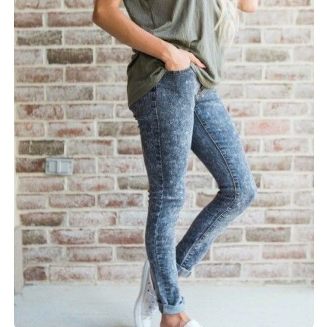 Acod Wash Skinny Jeans 26