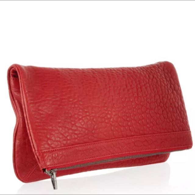 Alexander Wang Fold Over Dumbo Clutch Bag