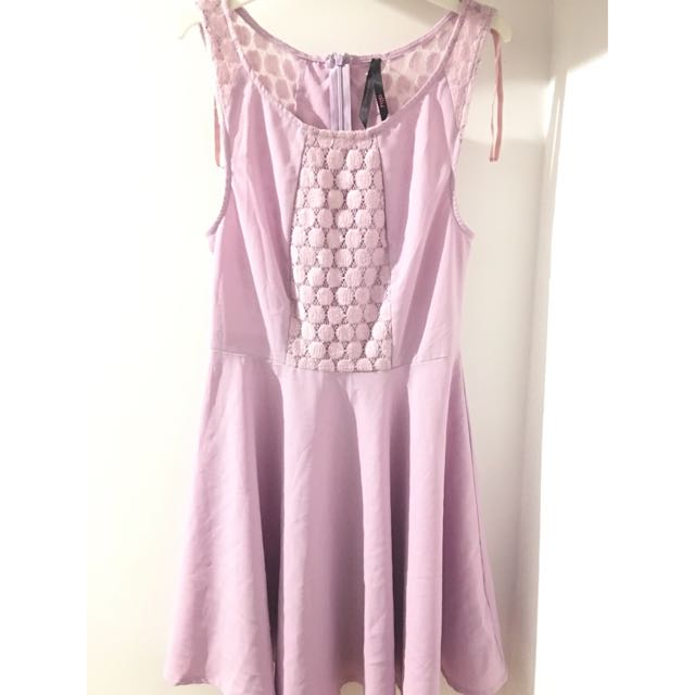 ALLY Lilac Purple Skater Dress [Size 10]