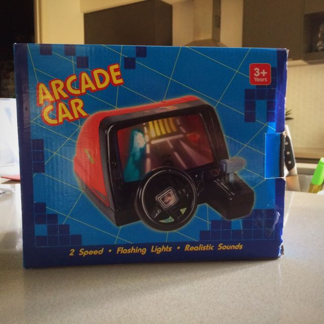 Arcade Toy Gaming Car!!