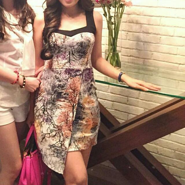Asymetris Dress